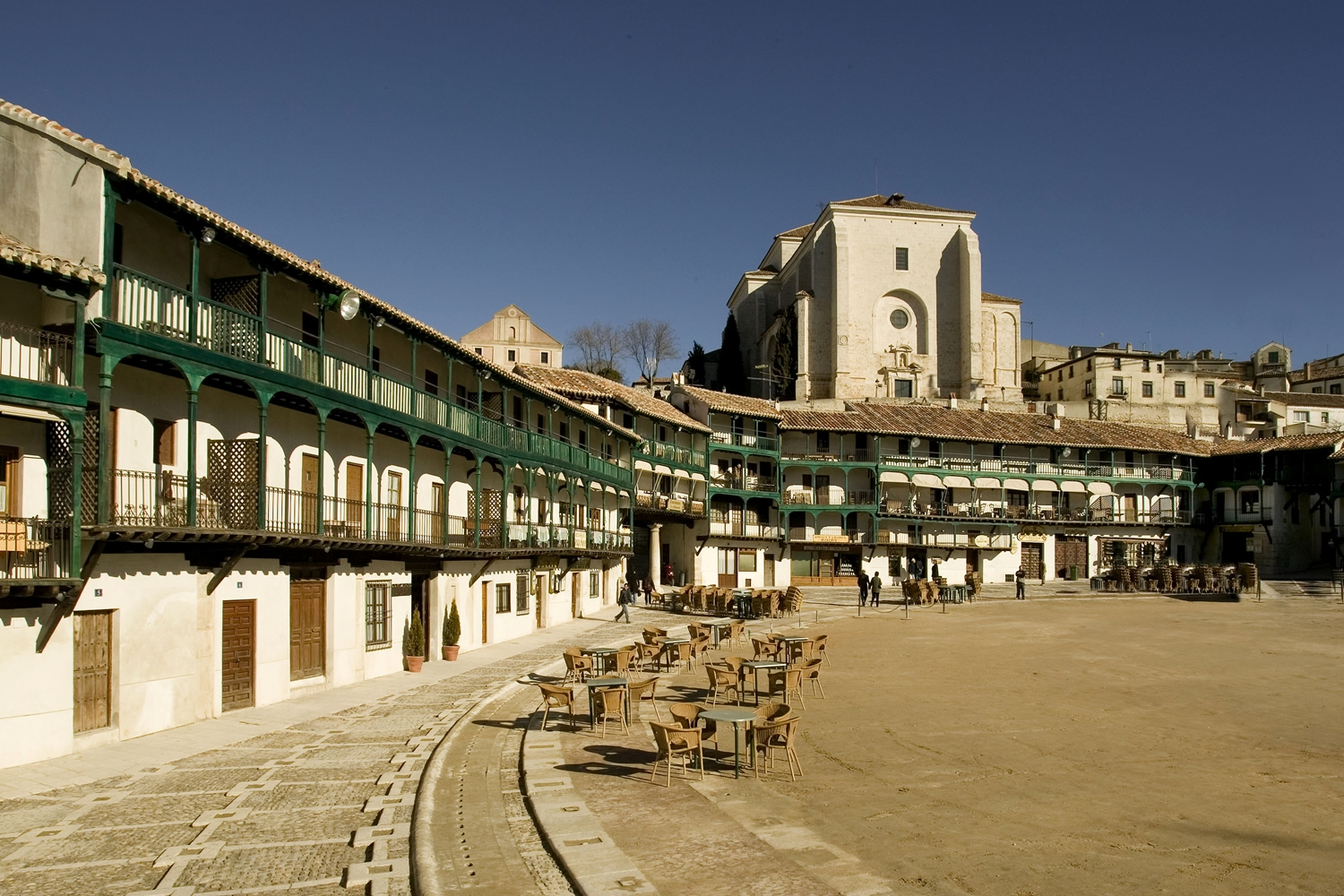 Turismo Madrid. Chinchón Plaza - Comunidad de Madrid