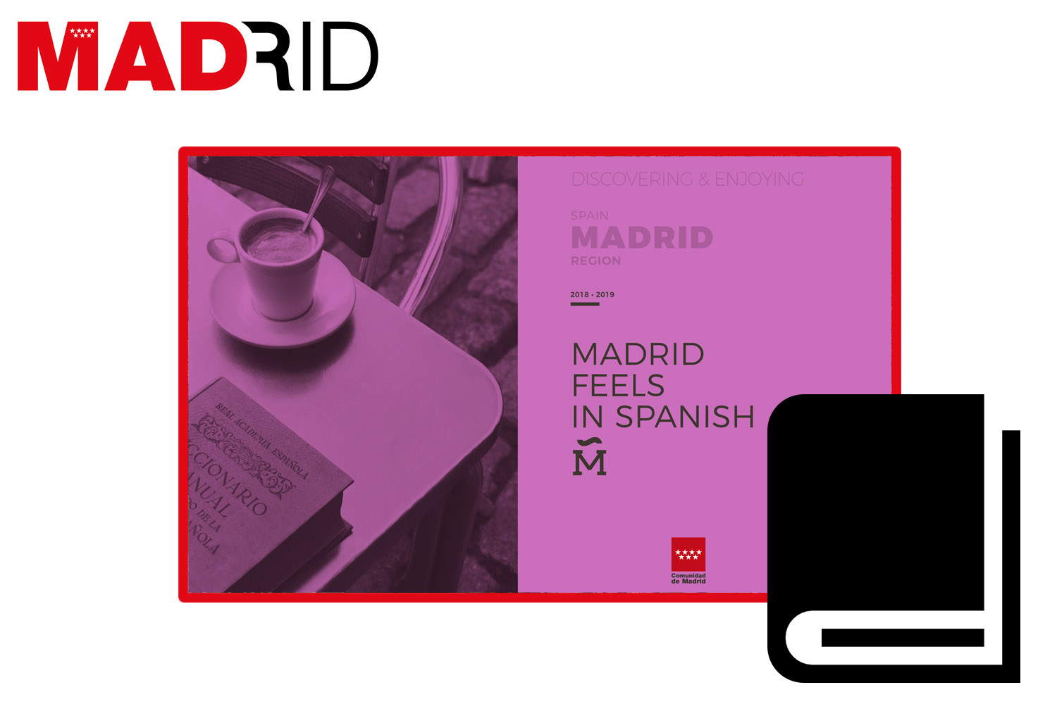 Madrid feels in Spanish (Brochure)