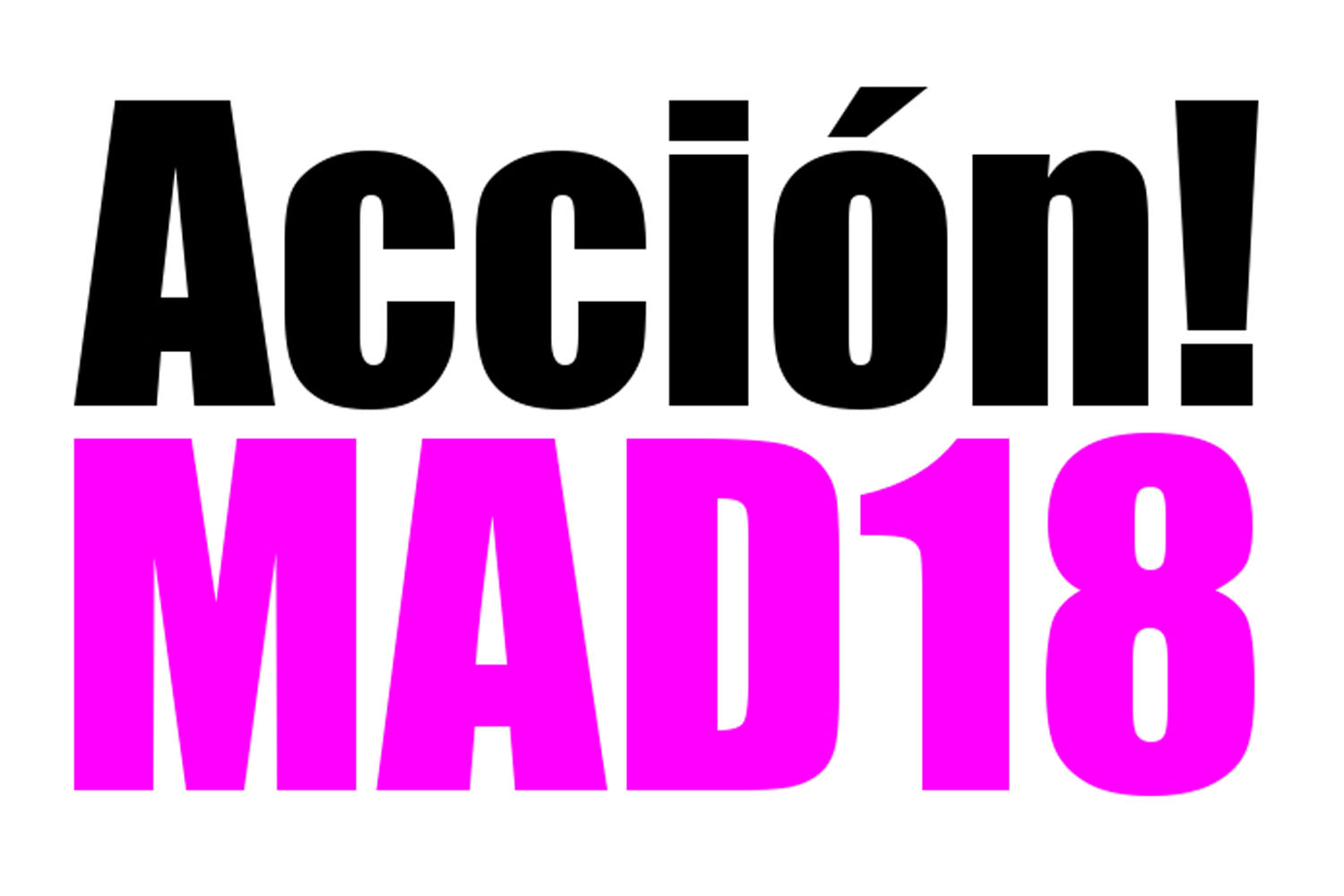 Acción!MAD18