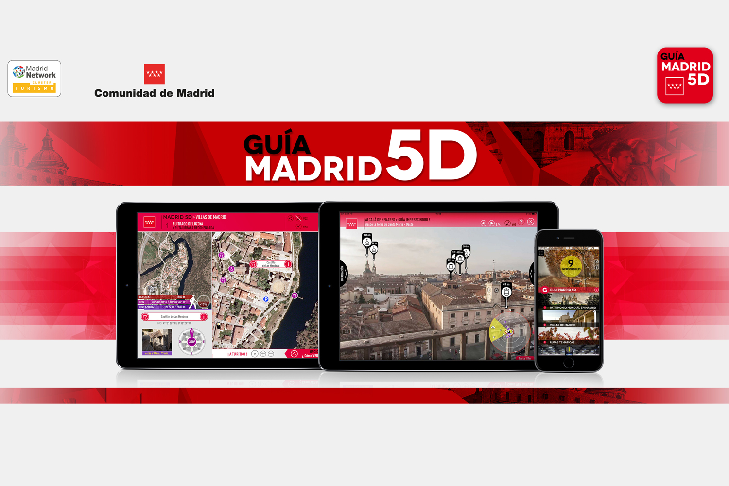 Turismo Madrid. App Guía Madrid 5D