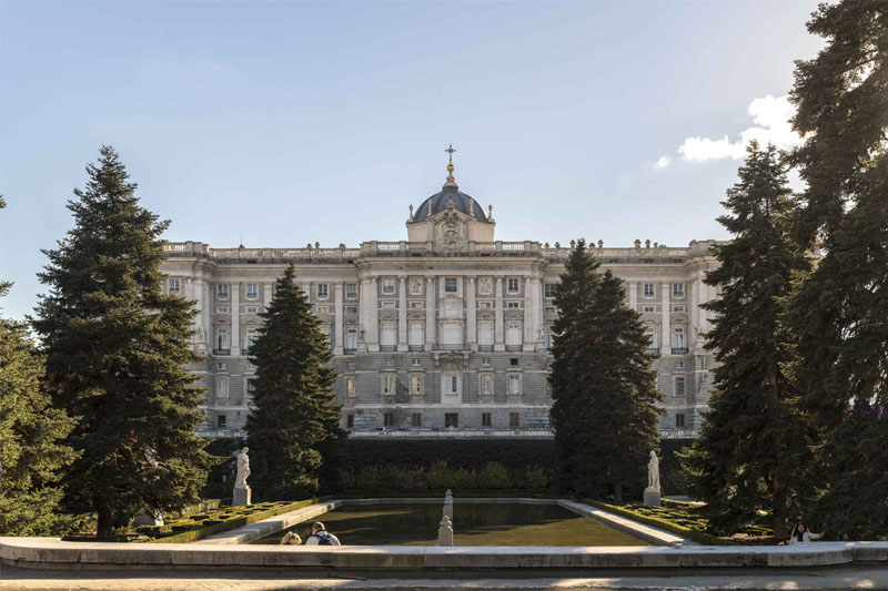 Route through the Madrid palaces