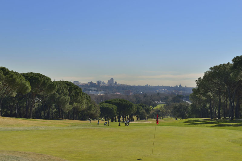 Golf en la Comunidad de Madrid