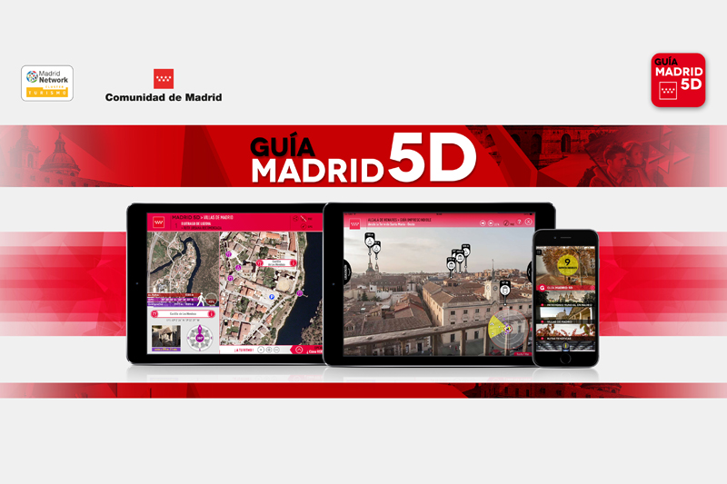 Madrid Guide 5D App