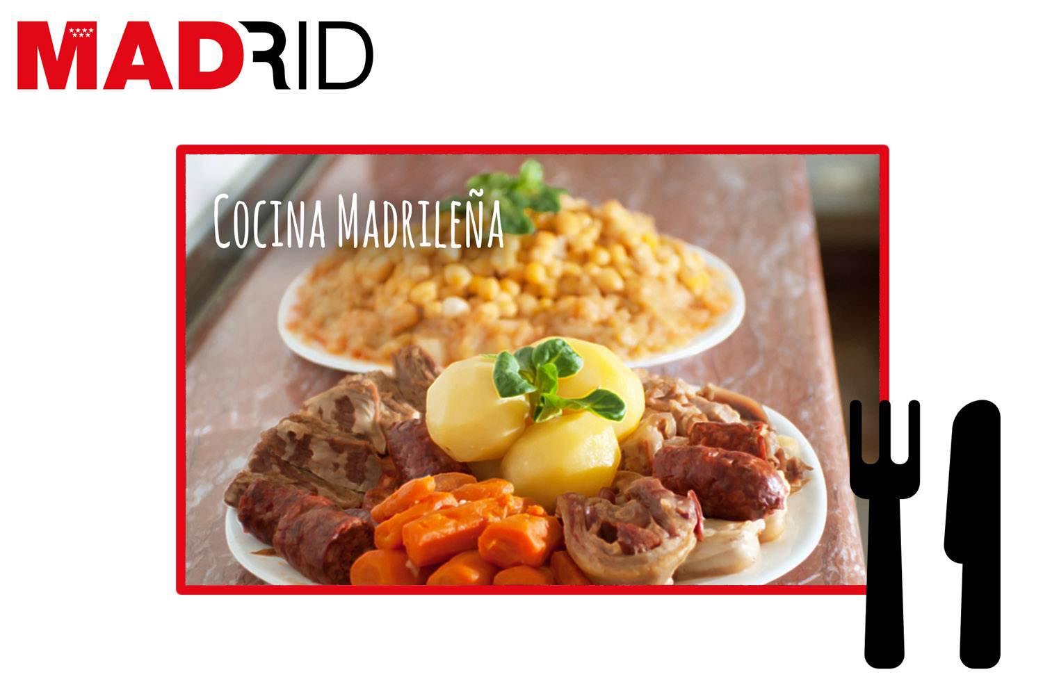 Typical dishes from Madrid