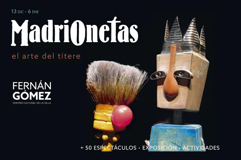 MadriOnetas, el Arte del Títere