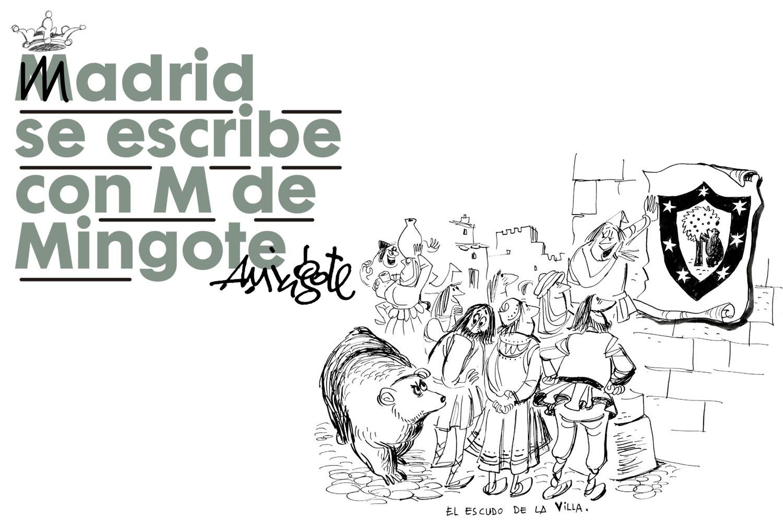 Madrid se escribe con M de Mingote