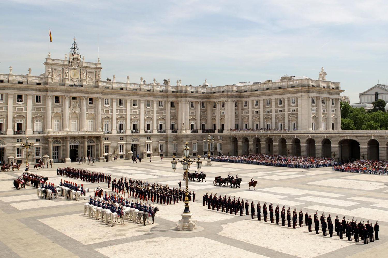 Relevo de Guardia y Relevo Solemne en el Palacio Real