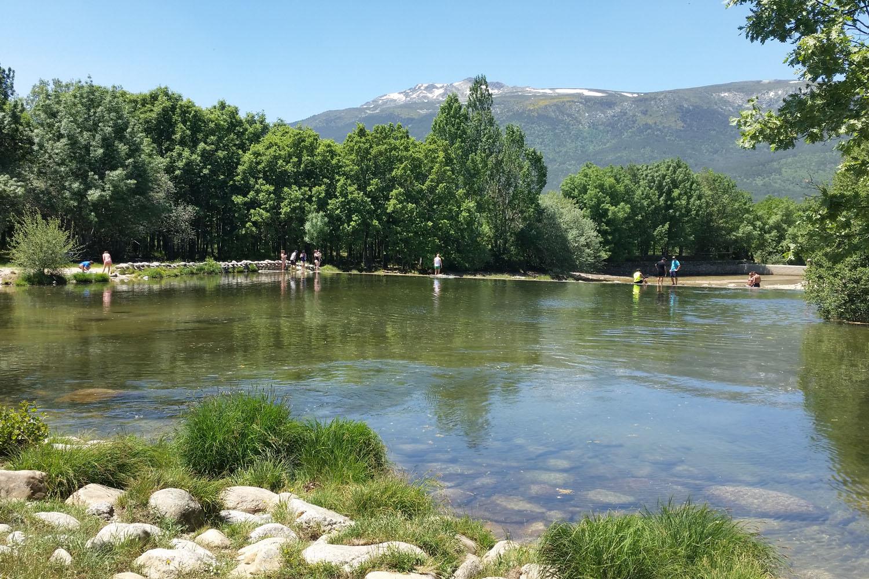 Zonas de baño en la Comunidad de Madrid
