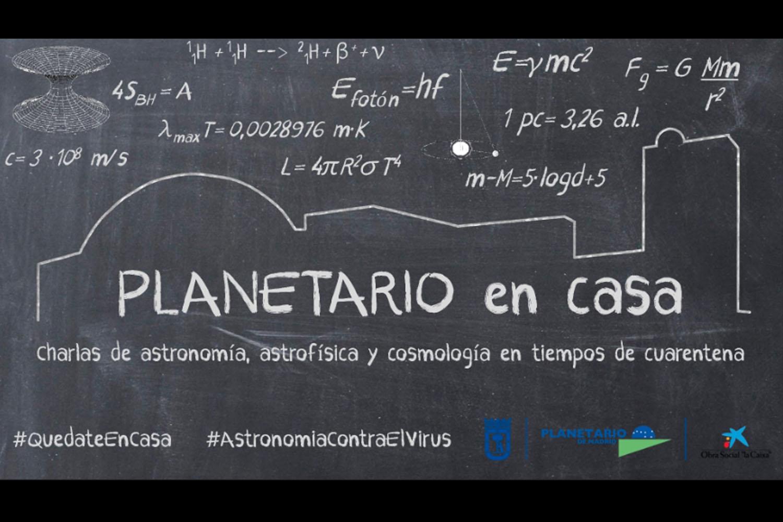 Planetario de Madrid en casa