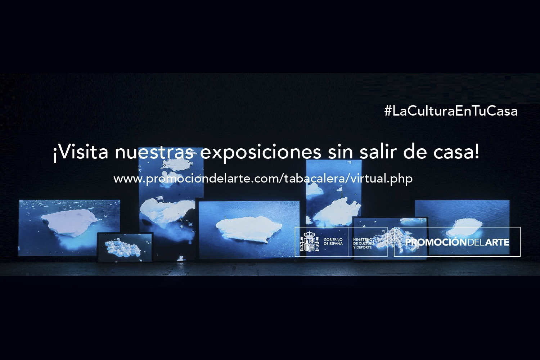 Recorre virtualmente las exposiciones de 'Tabacalera Promoción del Arte'