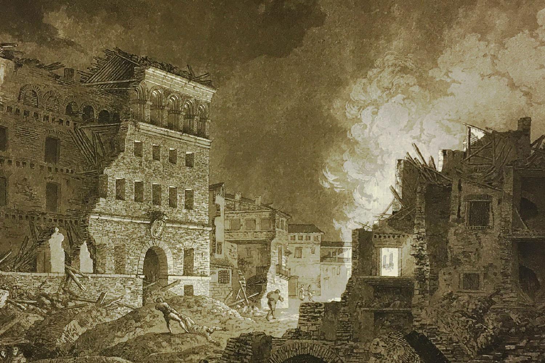 Ruinas de Zaragoza. Dibujos y estampas de la Colección Lázaro