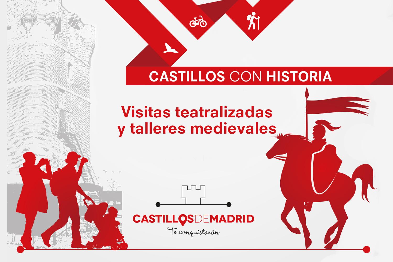 Turismo Madrid. Castillos con Historia, Red de Castillos de la Comunidad de Madrid