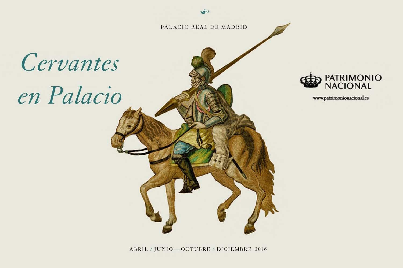 Turismo Madrid. Cervantes en Palacio