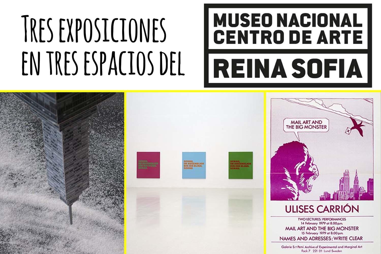 Turismo Madrid. Tres exposiciones en tres espacios del Reina Sofía