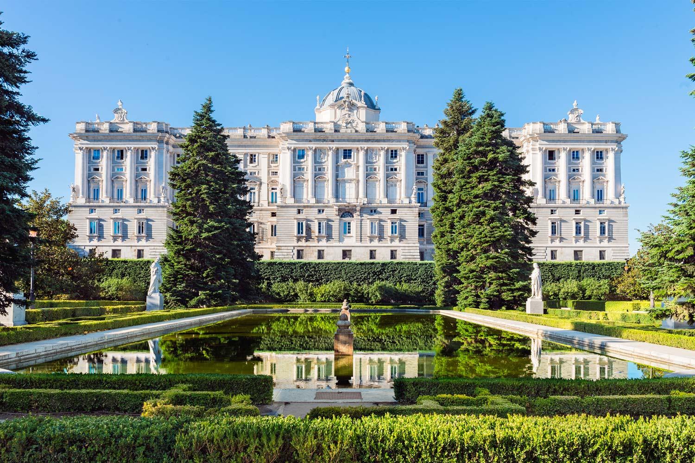 sita los Reales Sitios de la Comunidad de Madrid